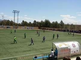 Imagen de un partido del Lorca Deportiva Féminas. Twitter