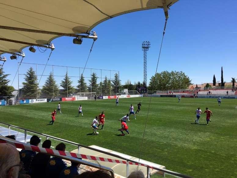 El Atlético pagará parte de las reformas en el Cerro del Espino. RayoMajadahonda