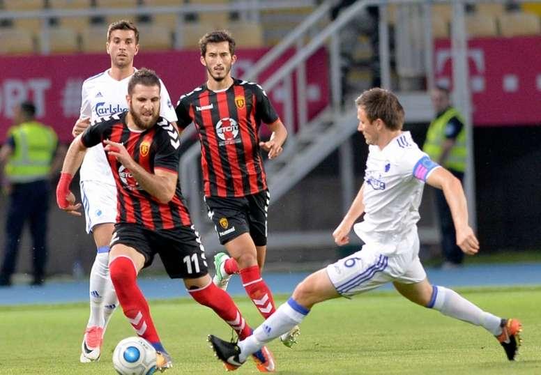 El Vardar de Skopje se enfrentará a la Real en la Europa League la próxima semana. FKVardar