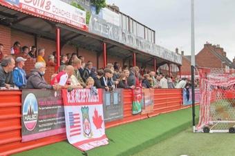 Wrexham AFC are an unusual Welsh team. Twitter/Wrexham_AFC
