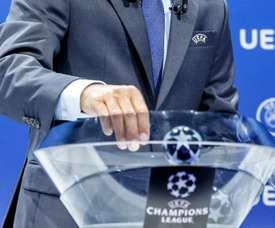 Suivez le direct du tirage au sort de Champions League. AFP