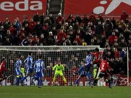 El Mallorca se llevó los tres puntos. LaLiga