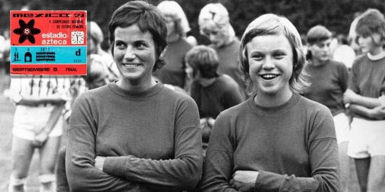 Italia 1970 y México 1971, cuando el fútbol femenino alcanzó la gloria. FIFAMuseum