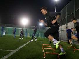 Mandzukic a commencé l'entraînement au Qatar. AlDuhail
