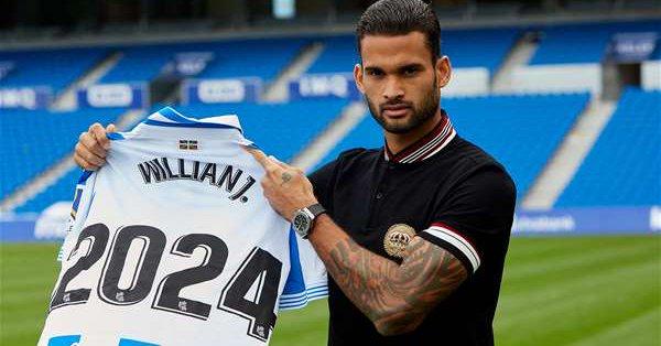 Maillot Extérieur Real Sociedad Willian J.