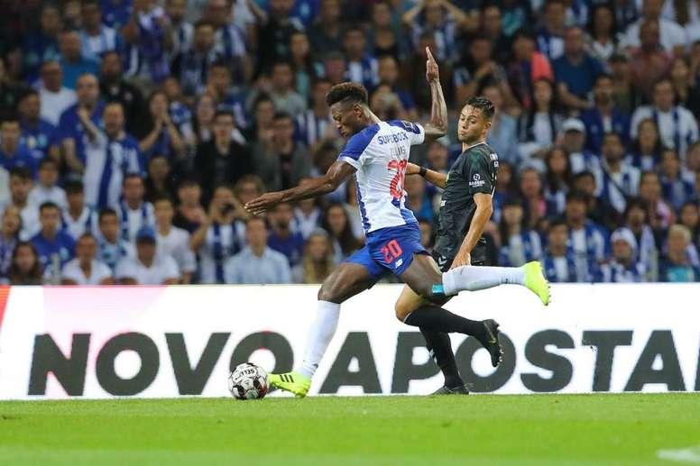 Zé Luís marcó. FCPorto