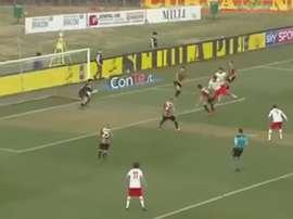 Nicastro firma uno de los mejores goles de la temporada en Italia. Youtube