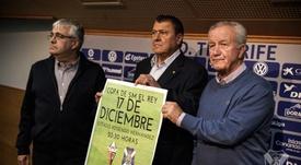 Las entradas del partido también estarán a la venta en el Heliodoro. CDTenerife