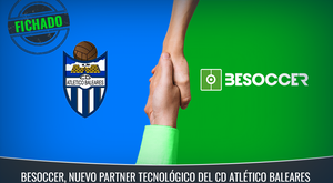 BeSoccer and Atlético Baleares have today started a new partnership together. BeSoccer