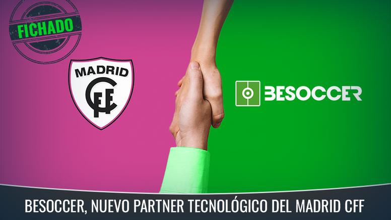 El Madrid Club de Fútbol Femenino, otro más en la familia de BeSoccer. BeSoccer