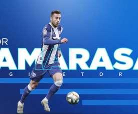 Camarasa e Ismael, dos caras nuevas para el Alavés. Twitter/Alaves