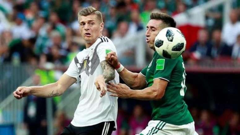 Kroos lanzó un 'zasca' monumental que enfadó a México. EFE