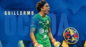 Ochoa volta ao América do México. ClubAmerica
