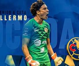 Ochoa revient au Club América. ClubAmérica