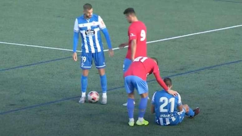 El Dépor ganó por la mínima al Racing de Ferrol. Youtube/RCDeportivo/Archivo