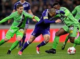 El fútbol en Bélgica echó el cierre este fin de semana. Anderlecht