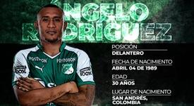 Deportivo Cali anunció el regreso de Ángelo Rodríguez. DeportivoCali
