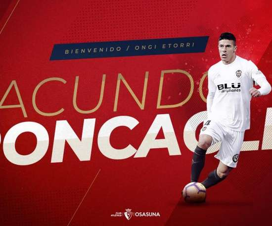 Roncaglia rejoint Osasuna. CAOsasuna