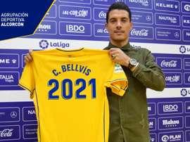 Bellvís llegó en 2014 al Alcorcón. ADAlcorcón