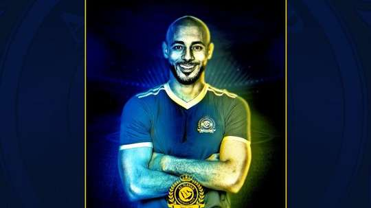 Amrabat represented Morocco at the World Cup. Twitter/AlNassrFC