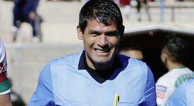 Falleció Víctor Hugo Hurtado en pleno partido. AFP