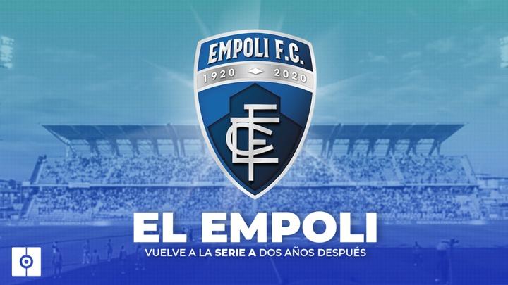 El Empoli, nuevo equipo de Serie A. BeSoccer