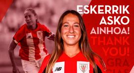 Ainhoa Álvarez opositará para ser profesora. AthleticClub