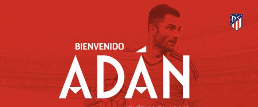 Atletico have signed Betis' Adan. AtleticodeMadrid