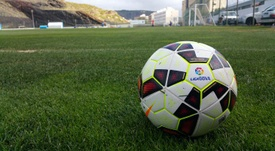 Imagen del balón de la LigaBBVA en un terreno de juego. Twitter