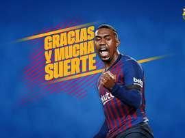 Malcom troca o Barça pelo Zenit por 40 milhões. FCBarcelona