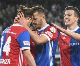 Seis goles. Twitter/FC_Basel_EN