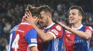 Le FC Bâle remporte la coupe/Twitter/FC_Basel_EN