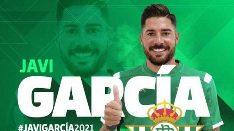 Javi García renueva. RealBetis