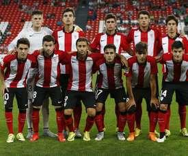 El Bilbao Athletic ha logrado una contundente victoria en la visita del Zamudio. Athletic-Club