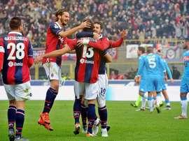 El delantero podría recalar en el Bolonia. Bologna