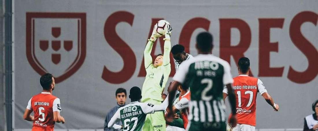 Rio Ave no pudo lograr los tres puntos. Braga