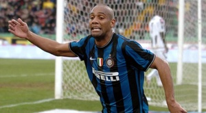 Maicon to play in Italian fourth division. AFP