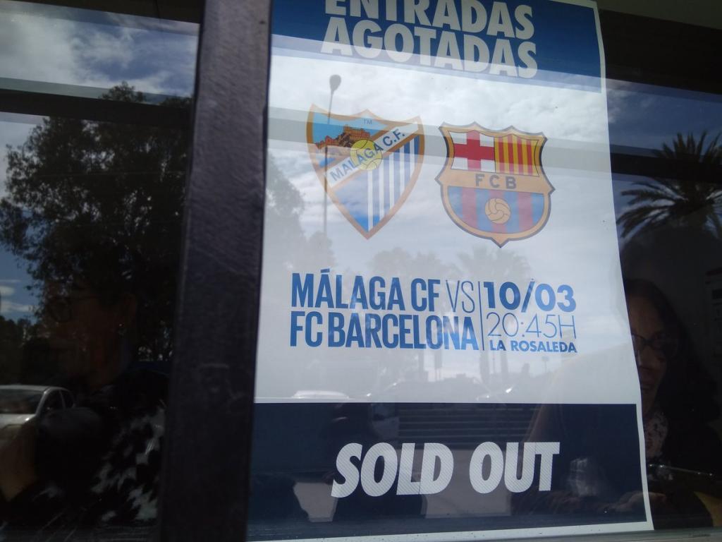 Barcelona buscará un triunfo ante Málaga para seguir liderando en España