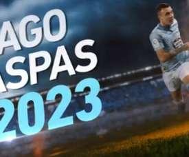 Aspas renova com o Celta até 2023. Captura/Celta