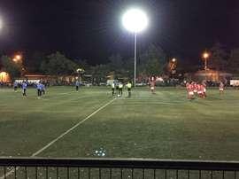 Imagen del choque entre Juventud Independiente y Pasaquina. Twitter