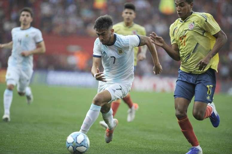 Argentina supera a Colombia en La Paternal. Argentina