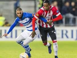 El PSV se impuso por un contundente 1-4. EFE