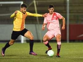 El Sant Andreu eliminó al filial azulgrana. Twitter/UESantAndreu