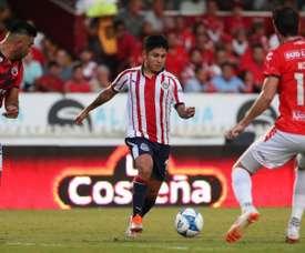 Chivas se llevó su primer triunfo del Apertura. Twitter/Chivas