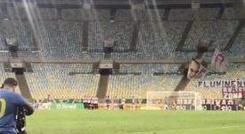 Fluminense y Ceará golpean primero. Captura/CopaDoBrasil