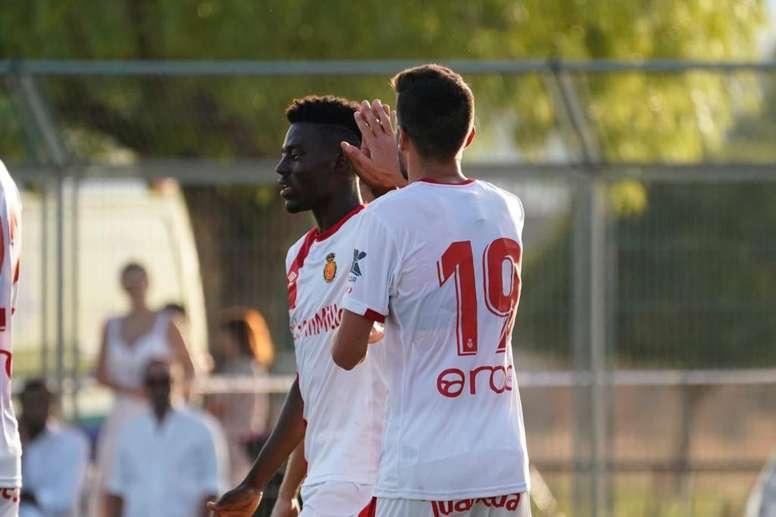 El Mallorca sigue carburando a base de goles. RCD Mallorca