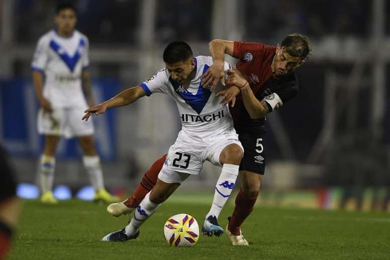 Vélez se llevó el triunfo. Twitter/Velez