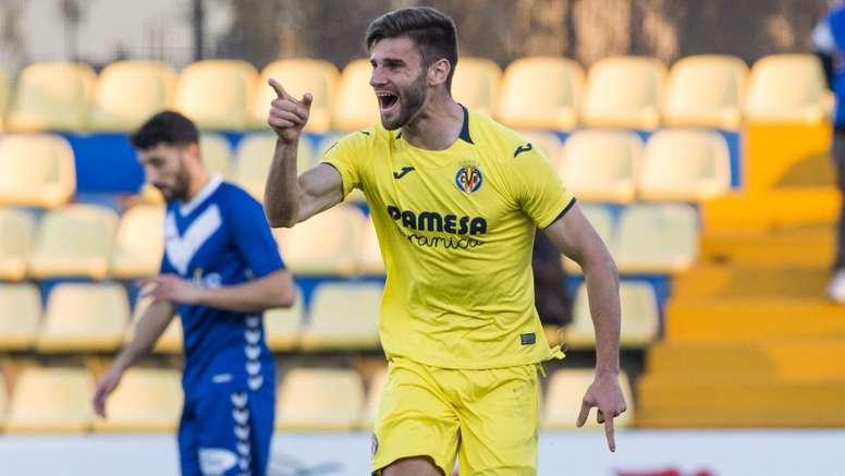 El Villarreal mide fuerzas con el Lleida. VillarrealCF