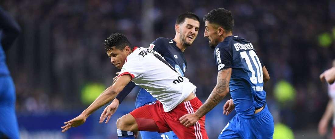 O Hamburgo retomou a recuperação que vinha tendo, com esta vitória sem discussão. HamburgerSV