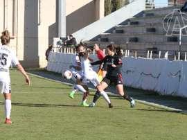 El Athletic Femenino se llevó los tres puntos a casa. AthleticClub